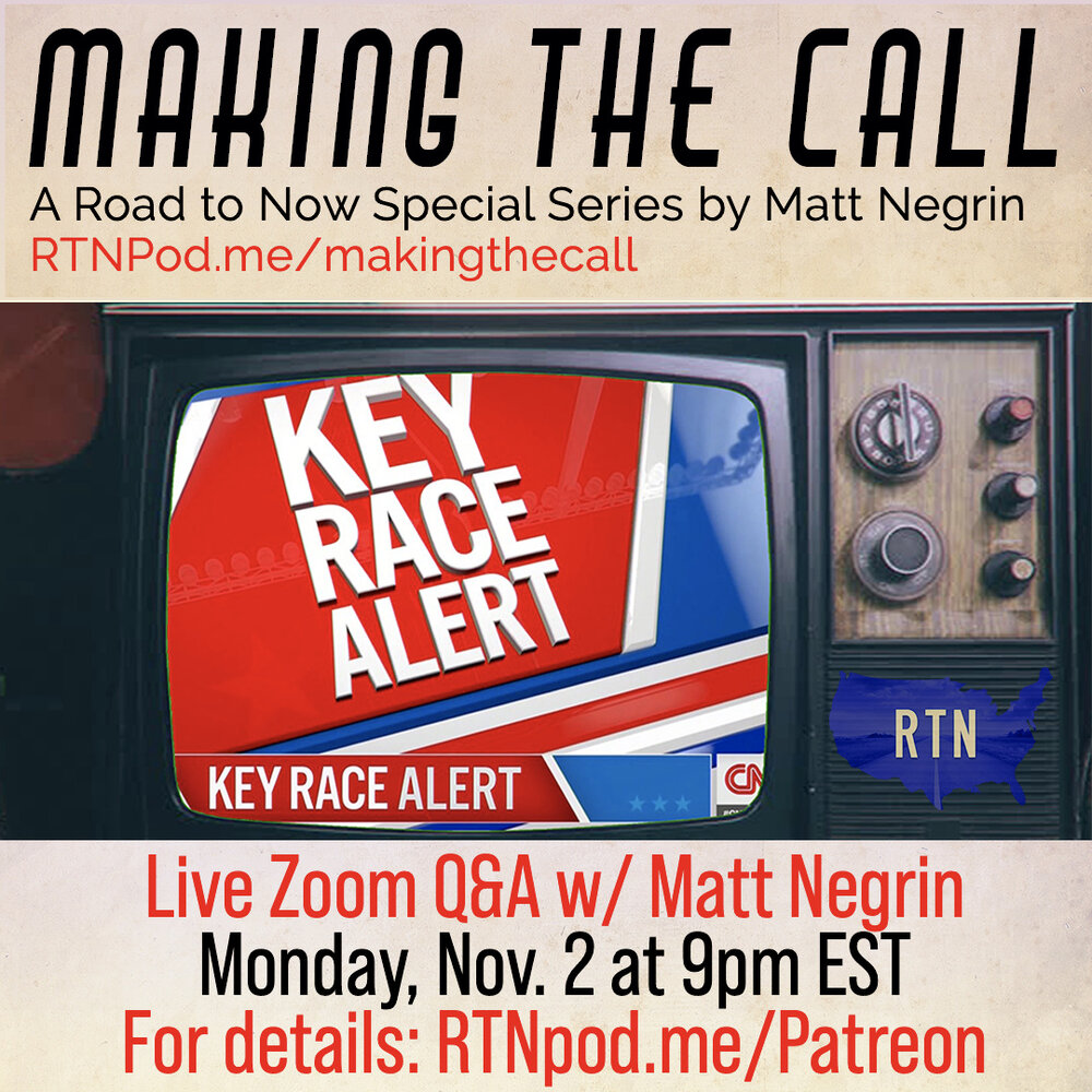 Join us on Patreon to be part of our live Q&A w/ Matt Negrin on Monday, Nov. 2nd at 9pm EST. RTNpod.me/Patreon